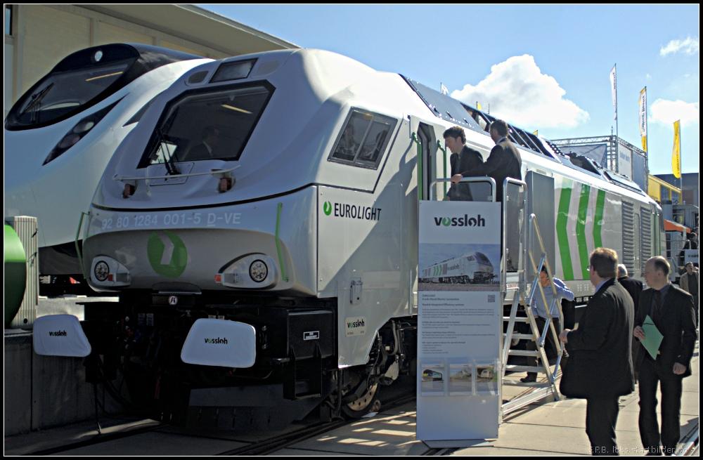 Sin duda, el producto estrella de Vossloh España es la locomotora Eurolight. Foto: Frank Paukstat.