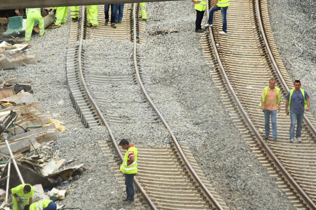 La Unión Europea ha recibido en Bruselas a los representantes de las víctimas del accidente de Angrois. Foto: Contando Estrelas.