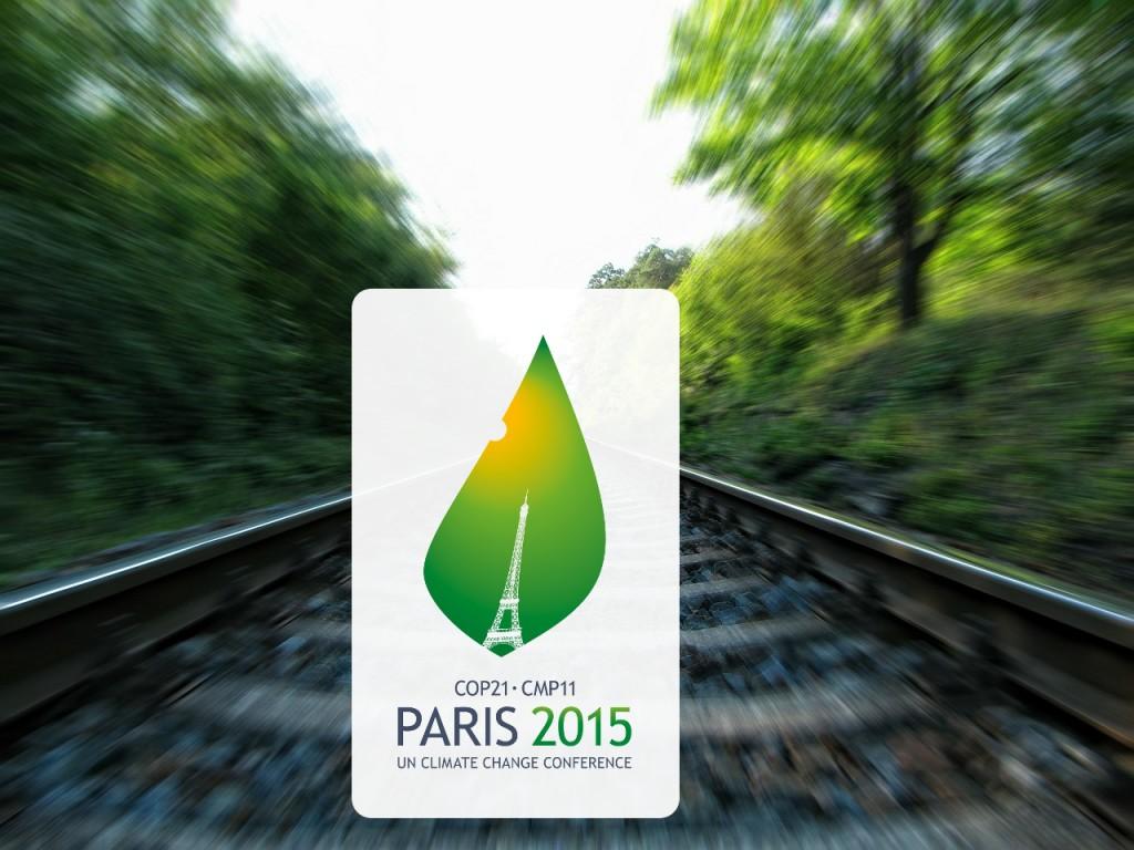 El ferrocarril, como medio eficiente y sostenible, debe y puede convertirse en el principal eje en la Cumbre de París - COP21 para solucionar los problemas de transporte.