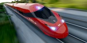 El morro del nuevo Pendolino es el rasgo más característico del tren. Foto: © Alstom.