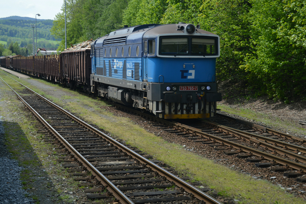 Los datos de Alemania y República Checa son un buen indicador para medir la temperatura al sector del transporte de mercancías por ferrocarril en Europa. Foto: Phil Richards.