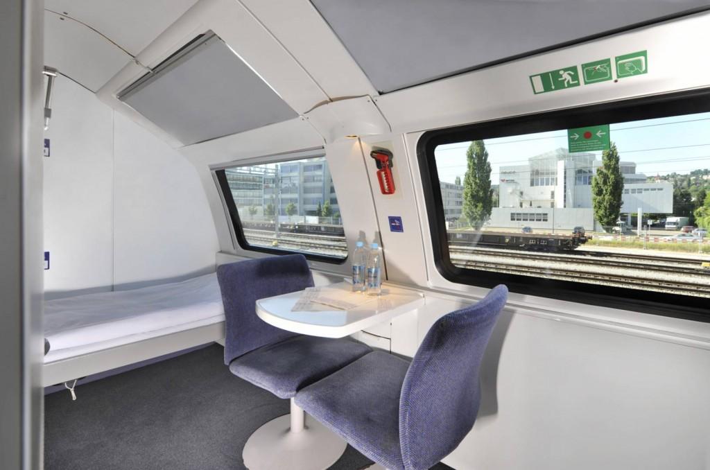 En diciembre de 2016 dejará de ser posible disfrutar de los compartimentos Deluxe de los City Night Line alemanes. Foto: Alex 60489.