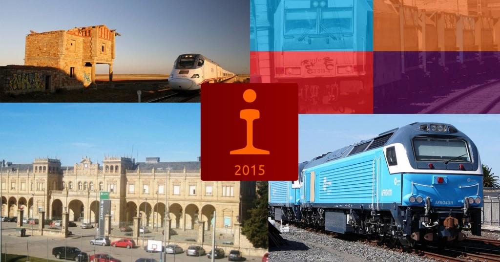 Resumen de las 10 noticias ferroviarias más leídas en Trenvista.