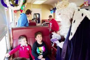 Los peques de la casa podrán conocer en persona a Sus Majestades a bordo del histórico Tren de los Reyes Magos. Foto: AAFM.