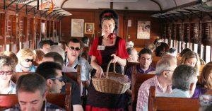 El Tren de la Fresa 2017 circulará desde el 29 de abril hasta el 29 de octubre. Foto: Ayuntamiento de Aranjuez.