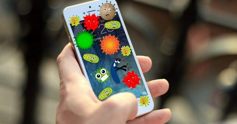 Los móviles son granjas de coronavirus y otros patógenos