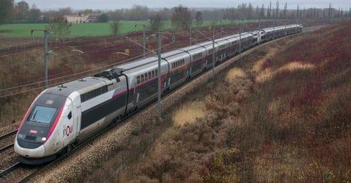 Doble composición del TGV Dúplex, modelo elegido para hacer el primer TGV medicalizado