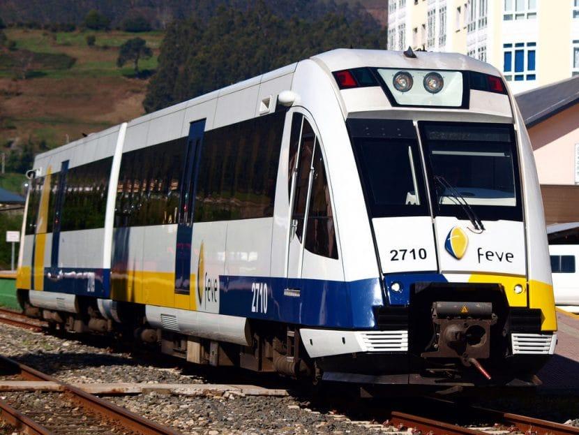 Tren de Feve en Viveiro. Foto: Enrique Pernas Rouco