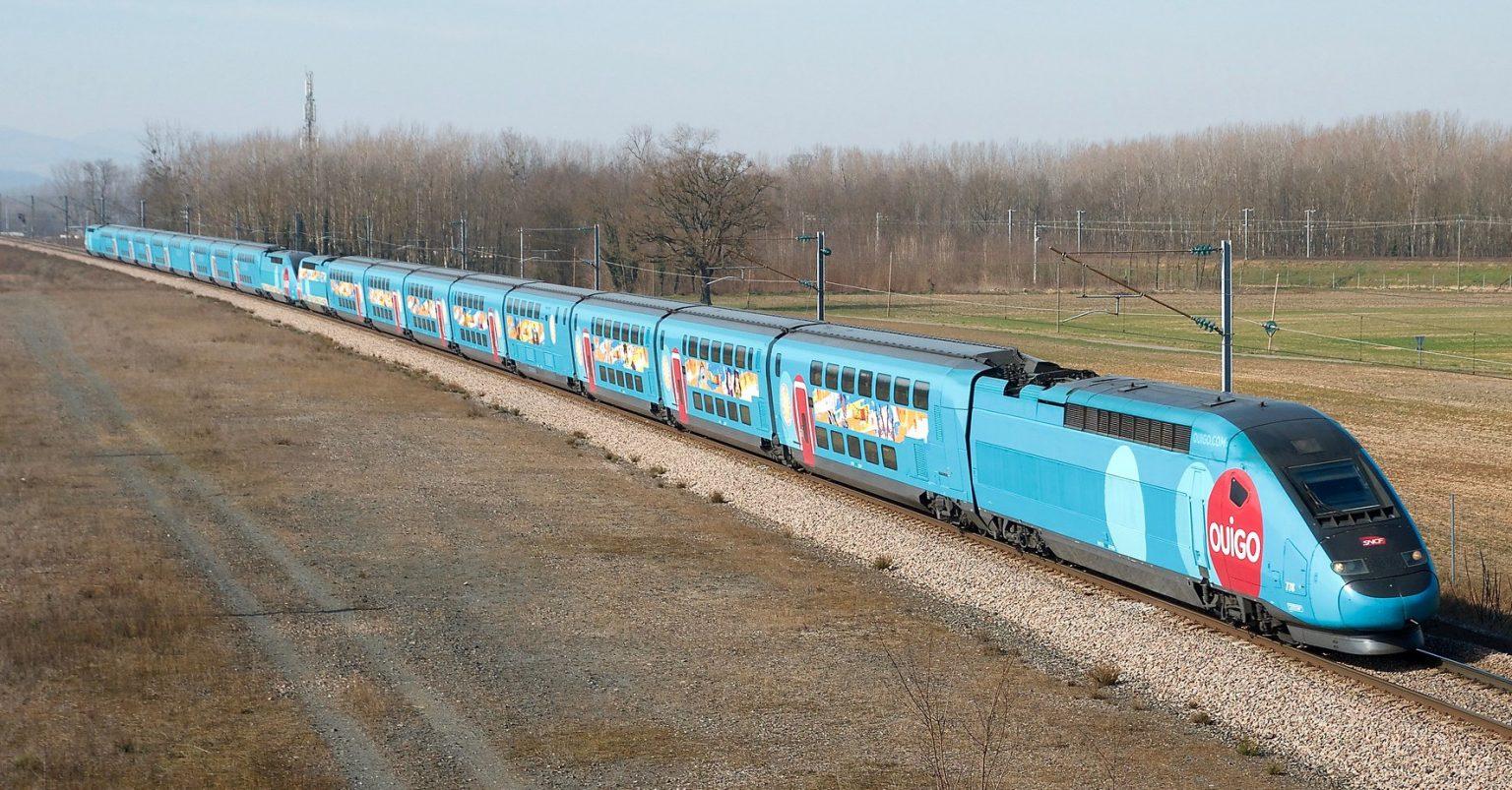 Tren Ouigo de SNCF, servicio en el que se basará el Falbalá de Rielsfera. Foto (CC BY NC SA): Sylvain Bouard