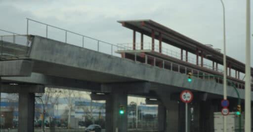 Estación ZAL - Riu Vell en construcción. JAVIERITO92