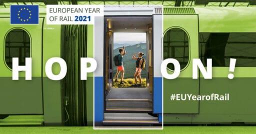HOP ON Año europeo del Ferrocarril