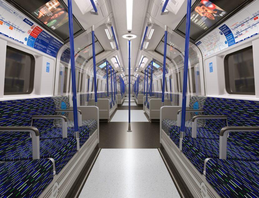 Interior de los trenes. © Siemens Mobility