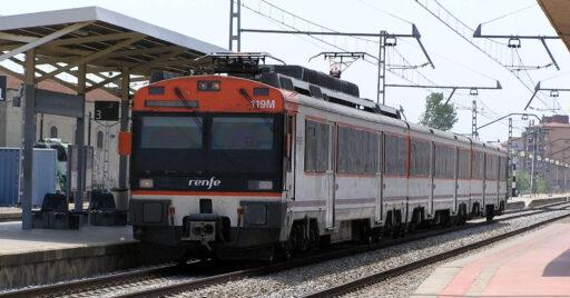 470 de Renfe destino Cerbère procedente de Barcelona. JORDI VERDUGO