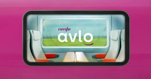 Fotograma del vídeo promocional del Avlo de Renfe