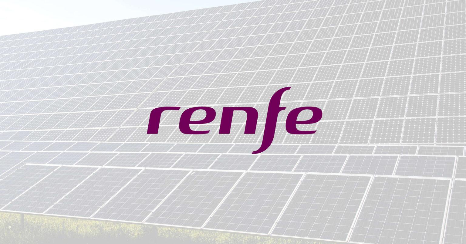Renfe quiere producir su propia energía renovable con plantas fotovoltáicas