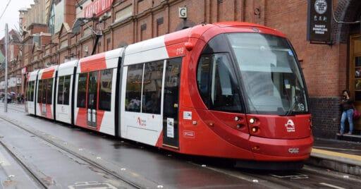 CAF fabricará más tranvías Urbos para Amberes y Sídney como la de la imagen.
