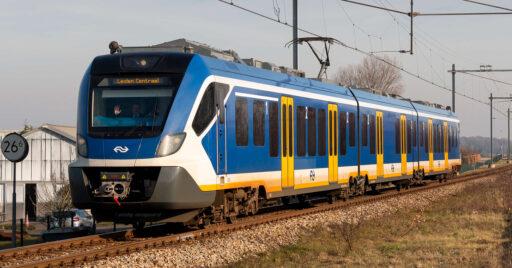 Unidad CAF Civity eléctrica de los ferrocarriles neerlandeses, similar a los 60 trenes de baterías para Renania del Norte-Westfalia. NICKY BOOGAARD.