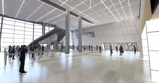 Diseño a ordenador de cómo se verá la ampliación de Chamartín. ADIF ALTA VELOCIDAD