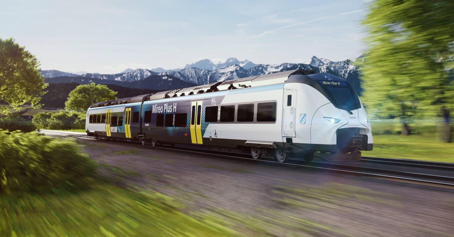 Diseño a ordenador del Siemens Mireo H que circulará por Baviera desde 2023. © SIEMENS MOBILITY.