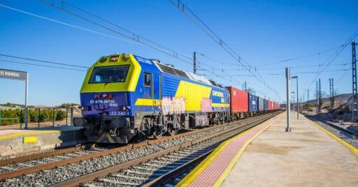 Tras la venta de Continental Rail a CMA CGM la naviera tendrá sus propios trenes.