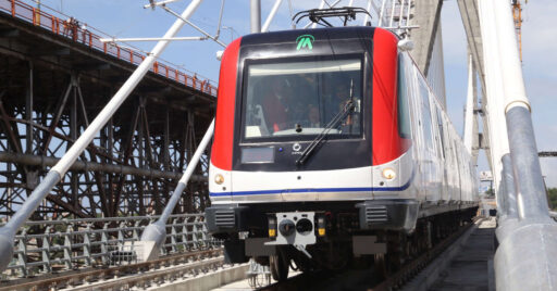 Los nuevos trenes del metro de Santo Domingo serán similares a los fabricados por Alstom España anteriormente. REYNALDO ANÍBAL.