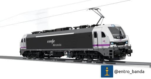 Renfe Mercancías compra 12 locomotoras a Stadler para la Variante de Pajares. ENTRO_BANDA