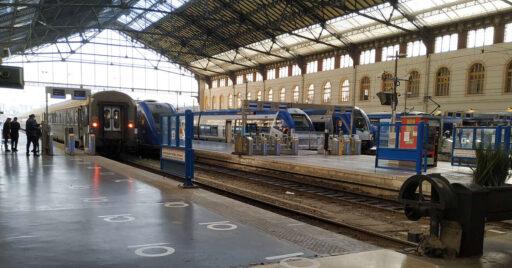 Estación de Marsella Saint Charles, cabecera del servicio TER adjudicado a Transdev. HOMÈRE PLUS