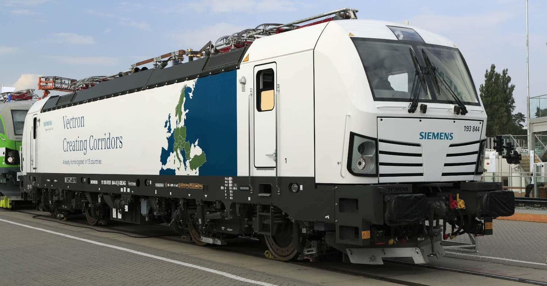 Siemens Vectron, uno de los modelos que podrían competir en la compra de 12 locomotoras para Renfe Mercancías. FALK2.