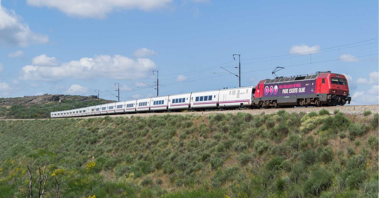 B-Rail comora 10 trenes Talgo a Renfe con los que operar composiciones similares a esta. (CC BY NC) CLÁUDIO AMENDOEIRA.